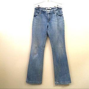 Gap long lean 10XL jeans size 10 Flare